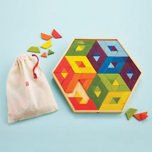 Eco Friendly Christmas Gifts for Kids Mosaic Puzzle