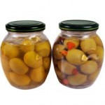 food storage glass jars