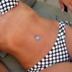 dry a wet bikini with silica gel packs