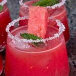 fresh juice with watermelon
